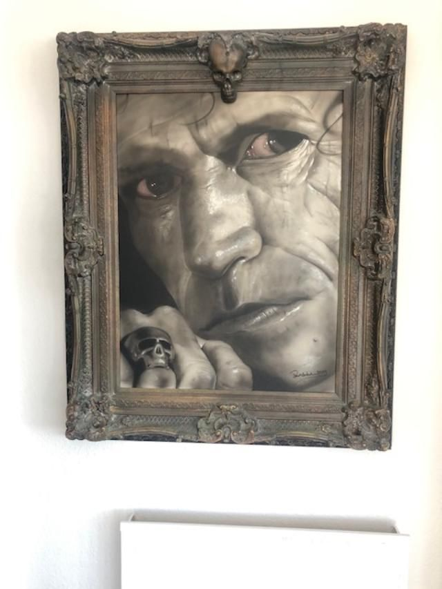 Keith Richards Skull Eyes 41x31 in £15,000.00 3