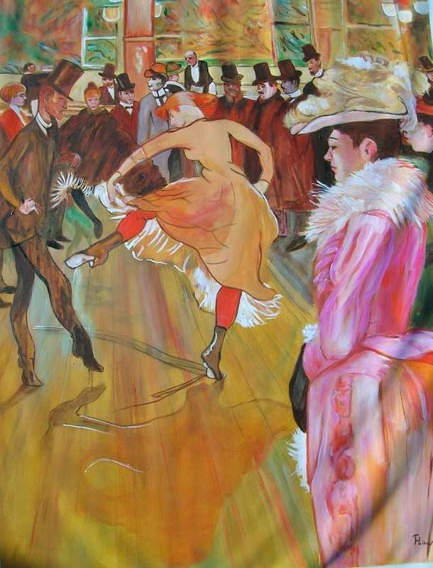 ball at the moulin rouge lautrec aldus