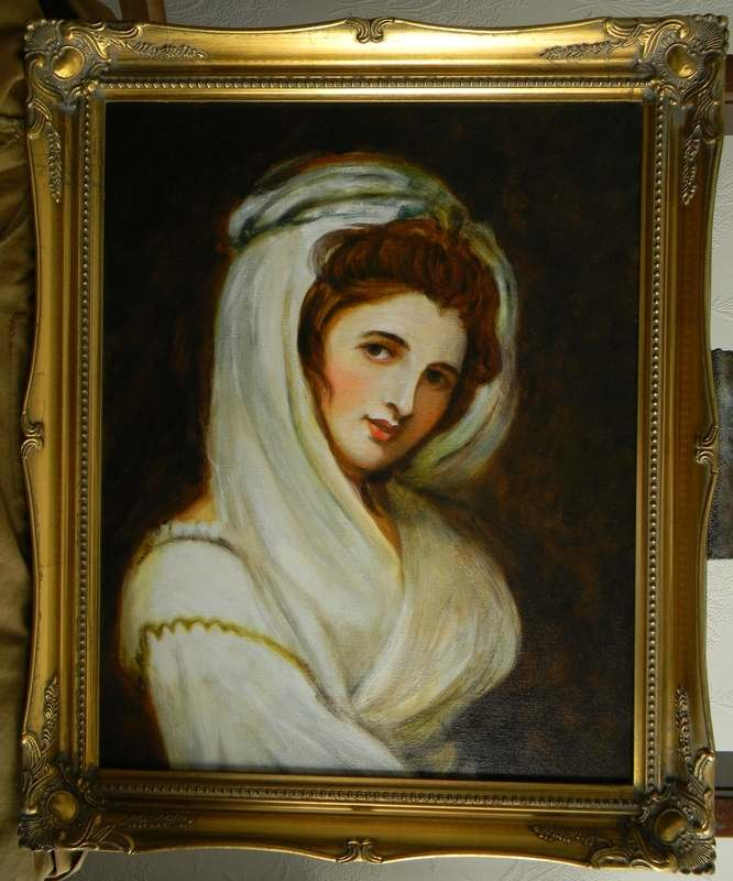 lady emma hamilton by terence vickress