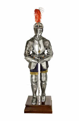 A Beautiful Suit of Armour of the style worn by Richard the Lionheart (now sold)