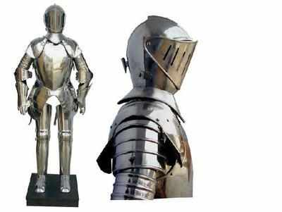 ENGLISH KNIGHT SUIT OF ARMOUR 15th Century