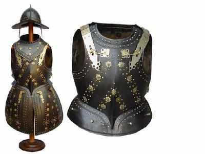 Black Pike man armour
