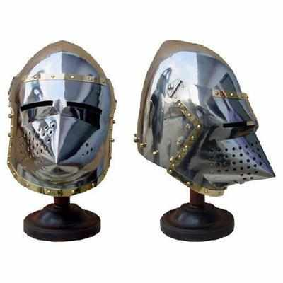 PIGFACE HELMET WITH STAND