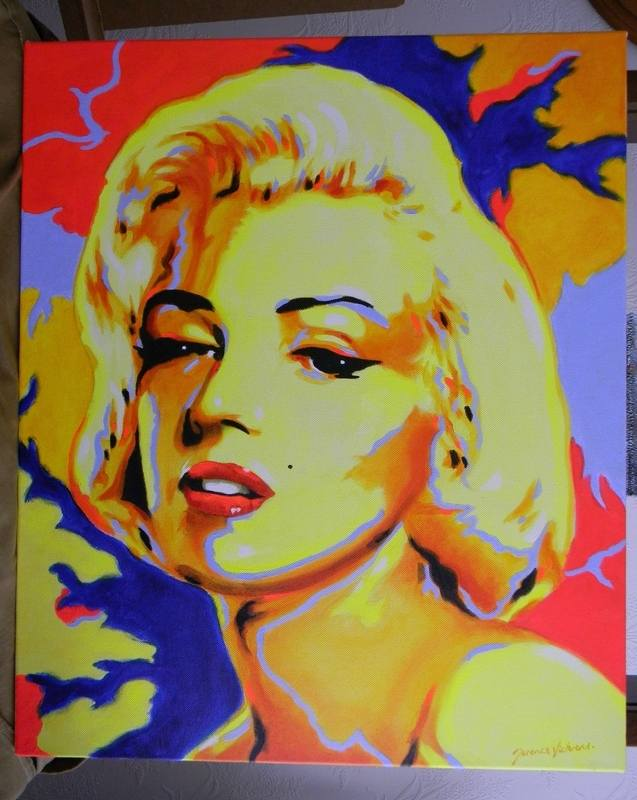 terence pop art marilyn
