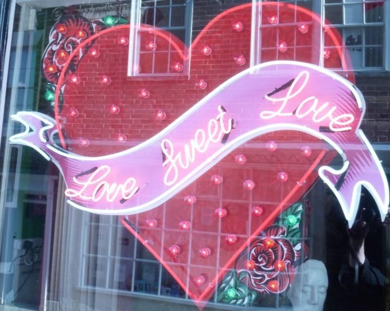 Chris Bracey Neon Love Sweet Love