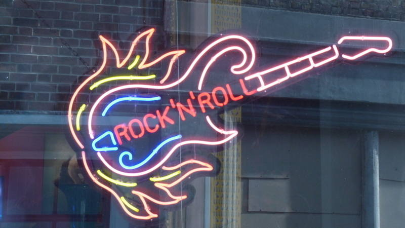 Chris Bracey Neons rock n roll