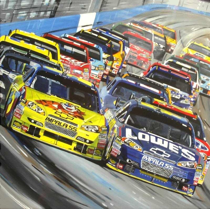 David Daisy..Boogity Boogity Boogity Nascar Sprint Cup 2009....675