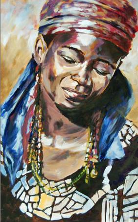 Marta african patchwork