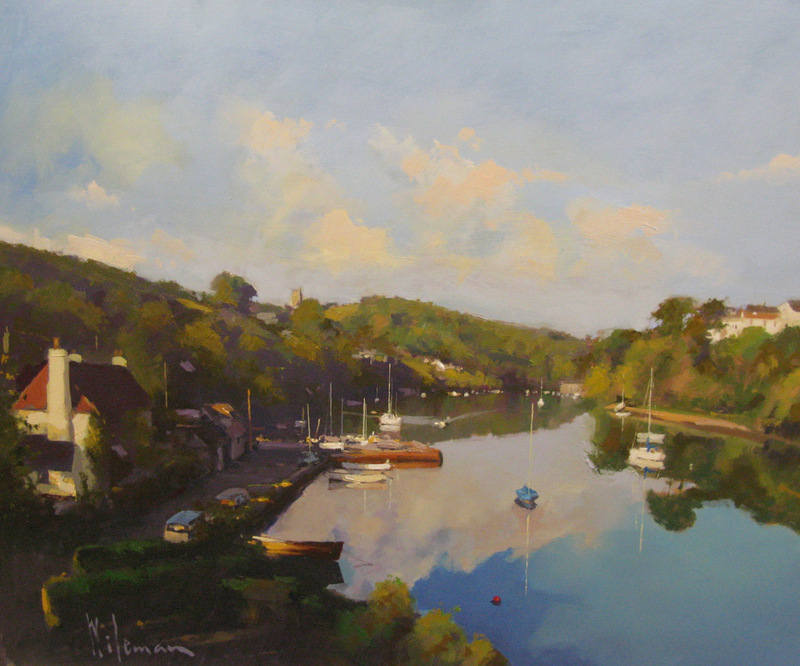 Noss Mayo 20 x 24 oil on board PW252