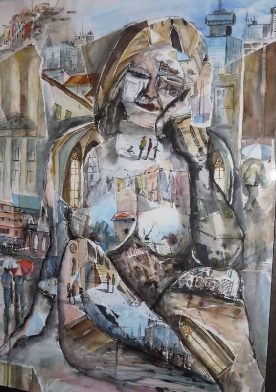 Denise Allen Collage girl