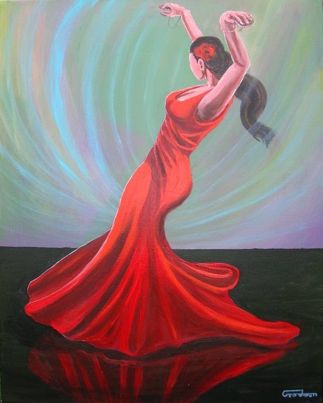 escarlata flamenco goodman