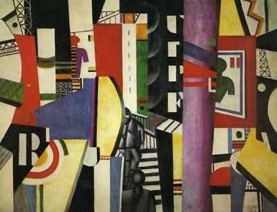 """""""La Ville"""" by Fernand Leger 1919"""