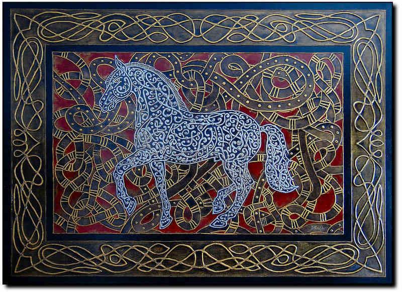 Albadias Horse 100x140cm 2010 (4)