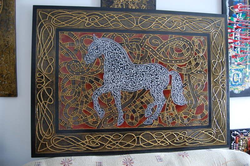 Albadias Horse 100x140cm 2010 (7)
