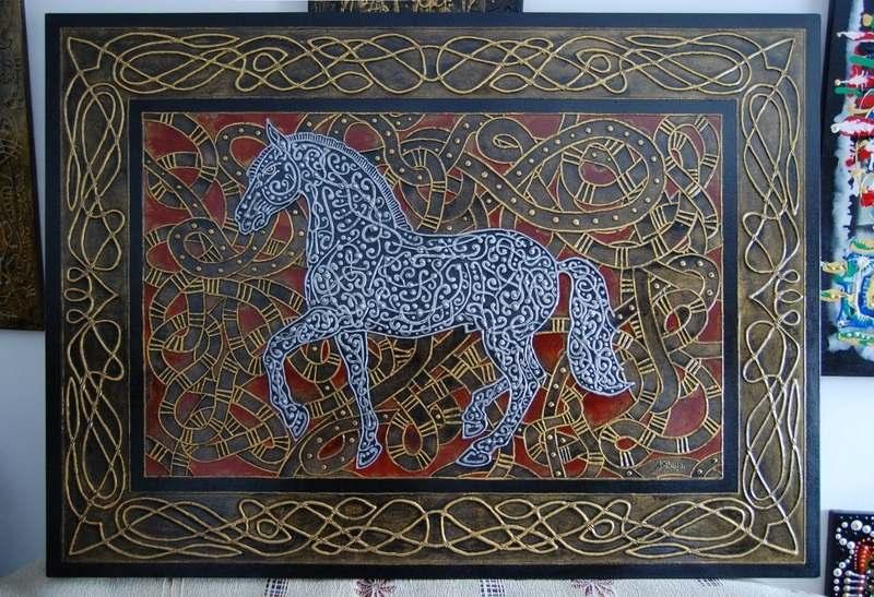 Albadias Horse 100x140cm 2010 (1)