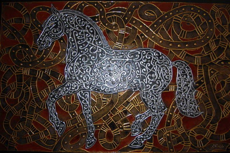 Albadias Horse 100x140cm 2010 (6)