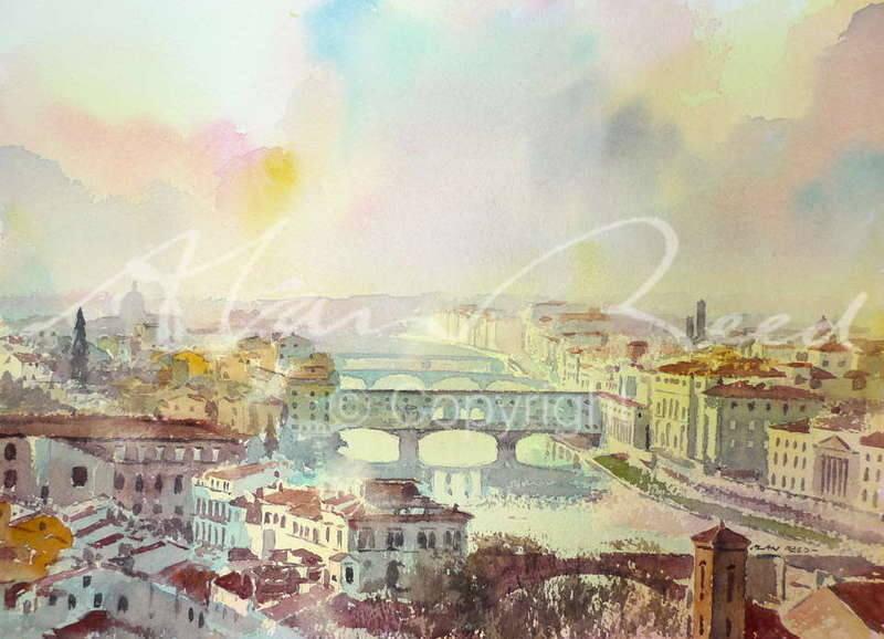 Ponte Vecchio from Piazza Michelangelo