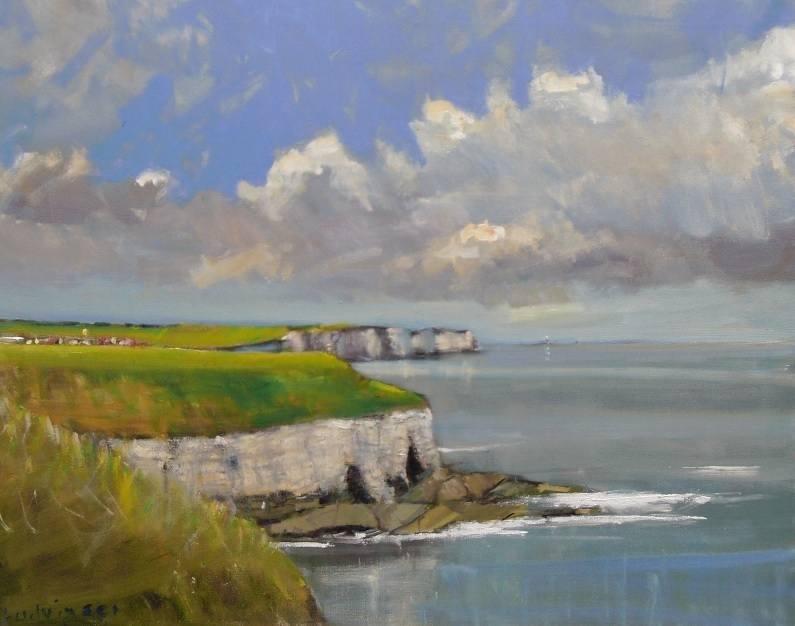 Bempton Cliffs on the Yorkshire Coast