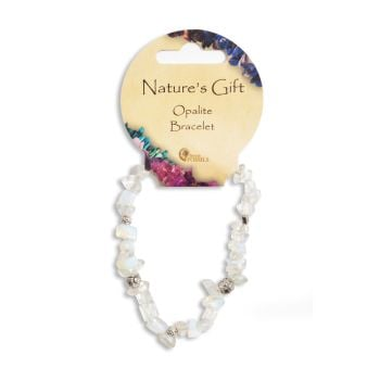 SET OF 20 Nature's Gift Opalite Gemchip Bracelet