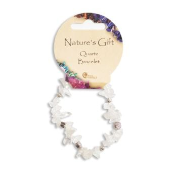 SET OF 20 Nature's Gift Quartz Gemchip Bracelet