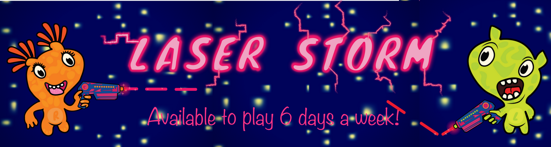 Laser Storm (Banner)