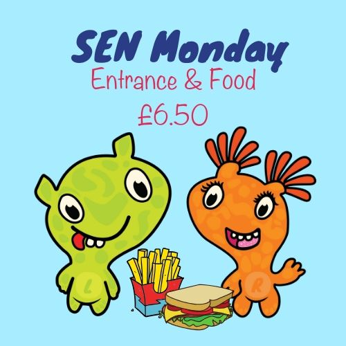 SEN monday with food