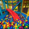 Under 3 slide and ball pit