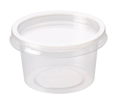 100 x 4oz Plastic Deli Pots (Recyclable)