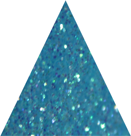 Bambino Blue Irridescent Fine Glitter - 10g