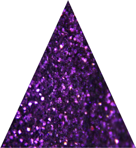 Luxurious Purple Metallic Fine Glitter - 10g