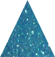 Bambino Blue Irridescent Super Chunky Glitter- 10g