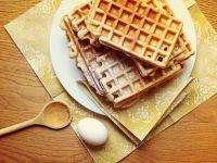 Autumnal Pecan Waffles