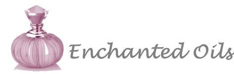 Enchanted Oils, site logo.
