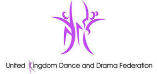 United Kingdom Dance and Drama Federation, site logo.
