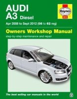 Audi A3 Haynes Manual Repair Manual Workshop Manual Service Manual  2008-2012