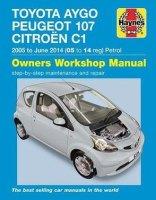 Peugeot 107 Haynes Manual Repair Manual Workshop Manual Service Manual 2005-2014