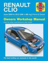 Renault Clio Haynes Manual Repair Manual Workshop Manual  2009-2012