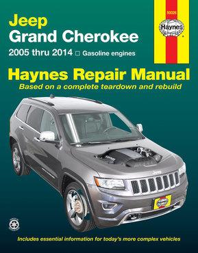 Jeep Grand Cherokee Haynes Manual Repair Manual Workshop Manual Service Manual  2005-2014