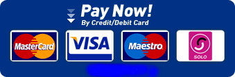 credit card logo blue