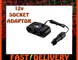 Car Socket Adaptor 12v Cigarette Lighter Socket Adaptor