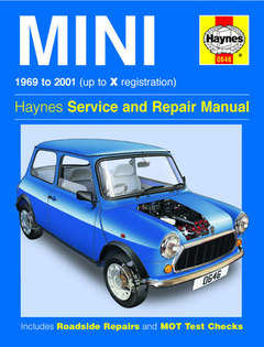 Austin Mini Repair Manual Workshop Service Manual Haynes Manual