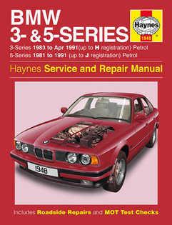 bmw manual repair