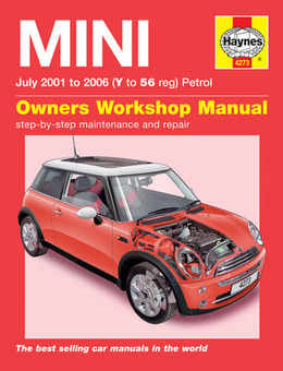 Mini Haynes Manual Repair Manual Workshop Manual Service Manual 2001-2006