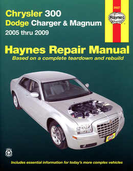 Chrysler 300 Haynes Manual Repair Manual Workshop Manual Service Manual 2005-2009