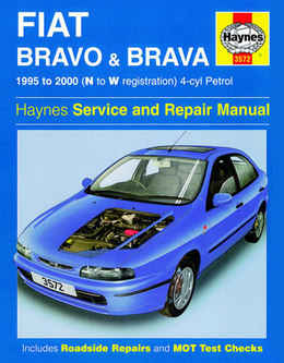 Fiat Brava Haynes Manual Repair Manual Workshop Manual Service Manual  1995-2000