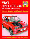 Fiat Cinquecento Haynes Manual Repair Manual Workshop Manual Service Manual