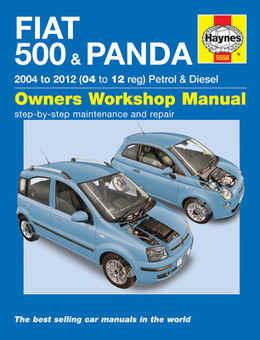 Fiat 500 Haynes Manual Repair Manual Workshop Manual Service Manual