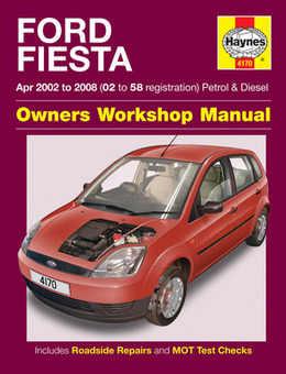 ford fiesta repair manual service