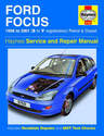 Ford Focus Haynes Manual Repair Manual Workshop Manual Service Manual  1998-2001