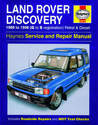 Land Rover Discovery Haynes Manual Repair Manual Workshop Manual Service Manual 1989-1998